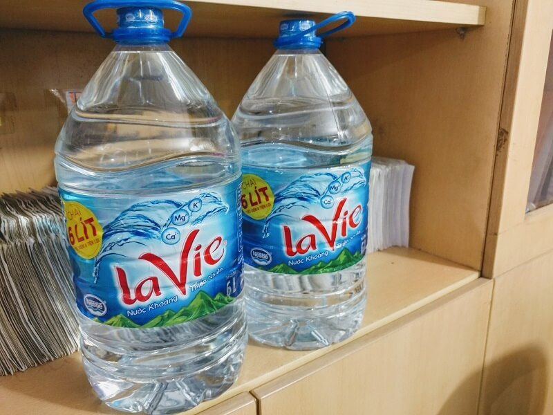 nước khoáng Lavie 6 lít